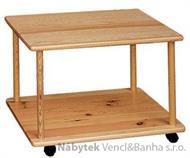 dřevěný barový stolek z masivního dřeva borovice drewfilip 27