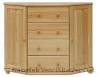 dřevěná komoda, prádelník z masivního dřeva borovice KD130 pacyg