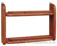 dřevěná závěsná polička z masivního dřeva borovice drewfilip 54