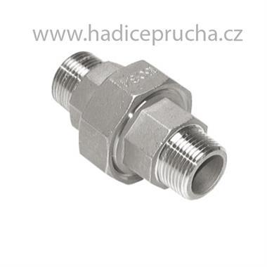 Šroubení ISO AG/AG NEREZ 316