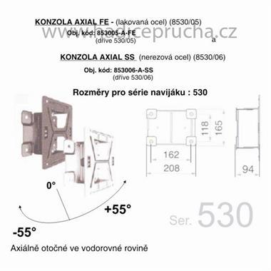 KONZOLA AXIAL SS