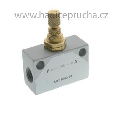 8860 - Škrtící ventil, obousměrný