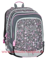 Bagmaster, školní batoh ALFA 7 B GREY/PINK, doprava zdarma