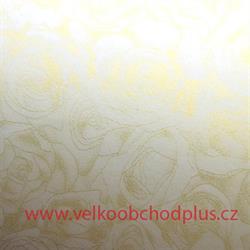 ozdobný papír A4, Růže, 100g, 50ks