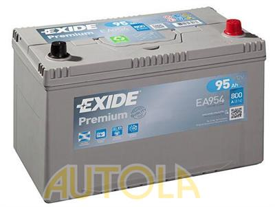 Autobaterie Exide Premium 12V, 95Ah, 800A