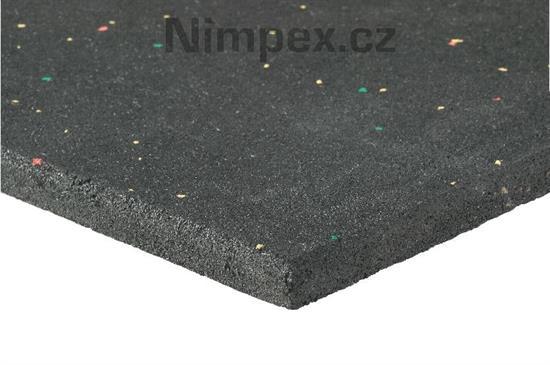 Gumová podložka pod pračku 60x60 cm