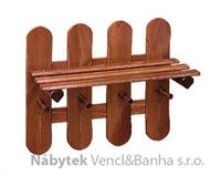 dřevěný závěsný věšák z masivu drewfilip 24