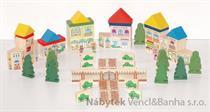 dětská dřevěná stavebnice Náměstičko