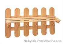 dřevěný závěsný věšák z masivu drewfilip 23