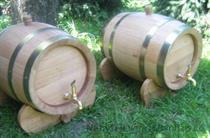 dubový soudek na alkohol 15 litrový