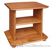 dřevěný televizní stolek RTV z masivního dřeva drewfilip 13