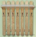 dřevěný věšák z masivu  drewm d29346