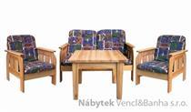 dřevěný zahradní nábytek set vencl 1S+1L+2K drewfilip 9/10/11