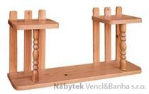 dřevěná závěsná polička z masivního dřeva borovice drewfilip 29