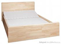 dřevěná dvoulůžková postel z masivního dřeva borovice L19 jandr