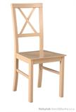 dřevěná čalouněná jídelní židle z masivu Milano 4D drewmi