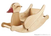 dětská dřevěná houpací kačenka Duckling elm