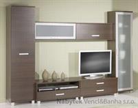 obývací pokoj, sektorový nábytek z dřevotřísky Maximus 7 maride