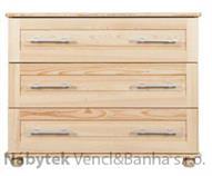 dřevěná komoda z masivu borovice 24 Jandr