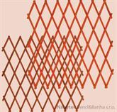 dřevěná zahradní dekorace ozdobná mřížka 120 drewfilip 78