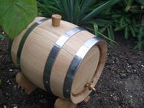 dubový soudek na alkohol 6 litrový