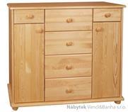 dřevěná komoda, prádelník z masivního dřeva borovice drewfilip 34