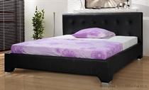 dvoulůžková čalouněná manželská postel Nefryt 160 chojm