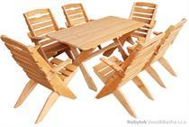 dřevěný zahradní nábytek Skládací drewfil 237