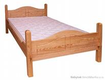 dřevěná jednolůžková postel z masivního dřeva drewfilip 8 Sandra