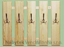 dřevěný věšák z masivu  drewm d30368