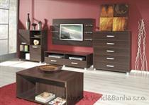 obývací pokoj, sektorový nábytek z dřevotřísky Maximus 5 maride