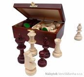 dřevěné turnajové šachové figurky Staunton Nr. 5  167 mad