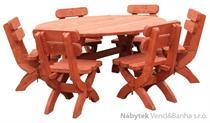 dřevěný zahradní nábytek K05 jandr