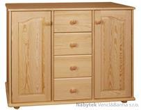 dřevěná komoda, prádelník z masivního dřeva borovice drewfilip 28