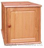 nástavec na šatní skříň z masivního dřeva borovice drewfilip 1 Nadstawka I