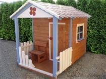 """dřevěná zahradní dekorace """"Dětský domek"""" N3 botodre"""