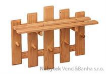 dřevěný závěsný věšák z masivu drewfilip 19