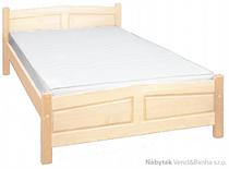 dřevěná dvoulůžková postel z masivního dřeva borovice L10 jandr