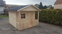 """dřevěná zahradní dekorace """"Dětský domek"""" N10 botodre"""