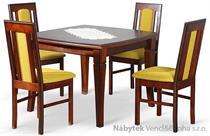 jídelní dřevěný rozkládací stůl S21 chojm