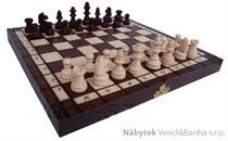 dřevěné šachy turistické turnajové 154A mad