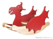 dětská dřevěná houpačka drak Dragon NK-18