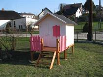 """dřevěná zahradní dekorace """"Dětský domek"""" N15 botodre 150"""