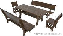 dřevěný zahradní nábytek Goral dras 1S+2L+2K  euromeb15