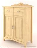 dřevěná stylová komoda Castello CAS-S-23 z masivního dřeva borovice  drewm