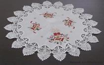vánoční textilní ubrus pr.60 cm