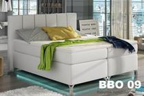 čalouněná dvoulůžková manželská postel Basilio eltapmeb