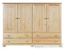 dřevěná komoda, prádelník z masivního dřeva borovice KD157 pacyg