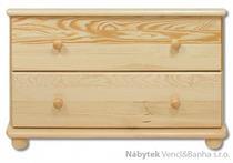 dřevěná komoda, prádelník z masivního dřeva borovice KD102 pacyg