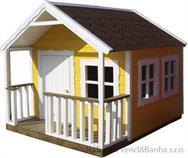"""dřevěná zahradní dekorace """"Pohádkový domeček"""" 28 euromeb"""
